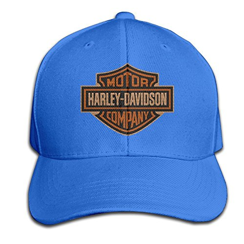 maneg-harley-logo-adjustable-hunting-peak-hat-cap
