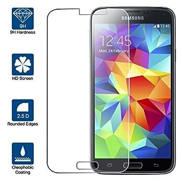 Beiuns Vidrio Templado Protector de Pantalla para Samsung Galaxy ...