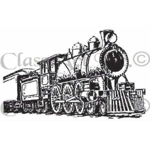 Class Act Cling Mounted Rubber Rubber Rubber Stamp, 2.75 by 3.75-Inch, Train 2 by Class Act B0149H7EDU | Günstige  | Mittel Preis  | New Product 2019  7aa7c0