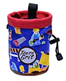 Little Kid Sized Leggo Construction Chalk Bag For 3-8 Year Olds (USA made) by Pure Grit