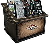 Fan Creations N0765-DEN Denver Broncos Woodgrain Media Organizer, Multicolored