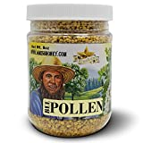 Goshen Honey Amish Extremely Raw BEE POLLEN Whole Granules Bee Bread - 100% Pure Natural Health Benefits - OU Kosher Certified Unfiltered | 8 Oz (Plastic Jar)