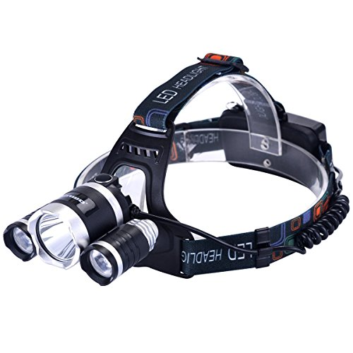 Led 4 Mode Headlamp Light Torch Camping Flashlight - 8