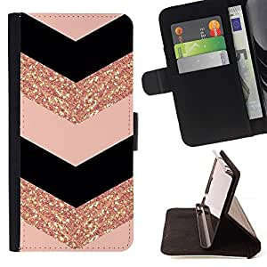 For LG G3 Chevron Dress Fashion Glitter Gold Pattern Style PU Leather Case Wallet Flip Stand Flap Closure Cover