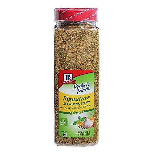 McCormick Perfect Pinch Signature Salt-Free Seasoning, 21 oz (Mccormick Lemon Herb Seasoning)