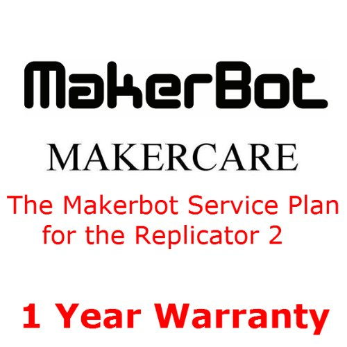 Makerbot Replicator II Desktop 3D Printer with Makercare Service Plan
