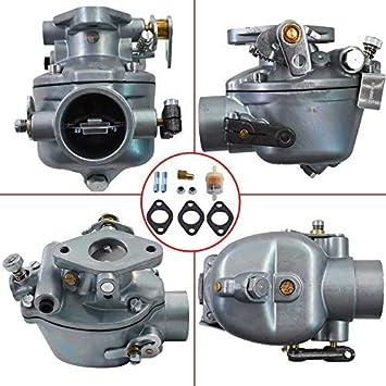 Fits for IH Farmall A AV B BN C SUPER Tractors KIPA Carburetor for 352376R92 354184R93 355485R91 373957R91 52499DB 69401D Marvel Schebler TSX156 TSX157 TSX319