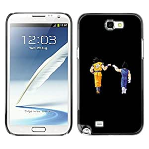 PIG - FOR Samsung Note 2 N7100 - Dragon Ball - Dise???¡¯???€????€????¡Ào para el caso de la cubierta de pl???¡¯&Ati