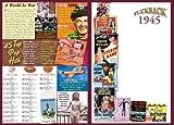 1945 Flickback DVD Greeting Card: 72nd Birthday or 72nd Anniversary