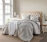 Silver Birch Pin Tuck Twin XL Comforter