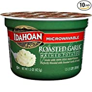 Idahoan Roasted Garlic Mashed Potato Cup, 1.5 Ounce -- 10 per case.