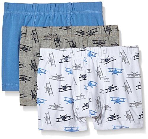 NAME IT Baby-Jungen Unterhose NITTIGHTS K B NOOS, 3er Pack, Gr. 116 (Herstellergröße: 110-116), Mehrfarbig (Regatta)