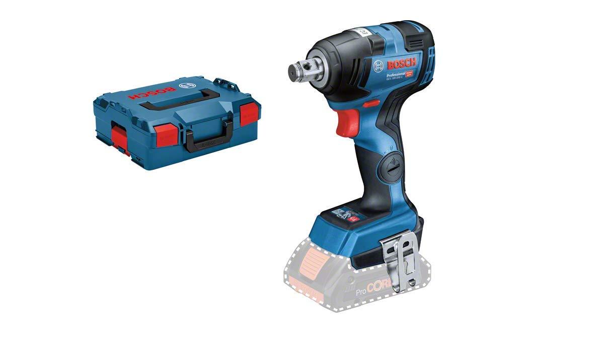 ohne Akku, 18 Volt, max. Drehmoment 200Nm Bosch Professional 06019G4302 Drehschlagschrauber GDS 18V-200 C 18 V