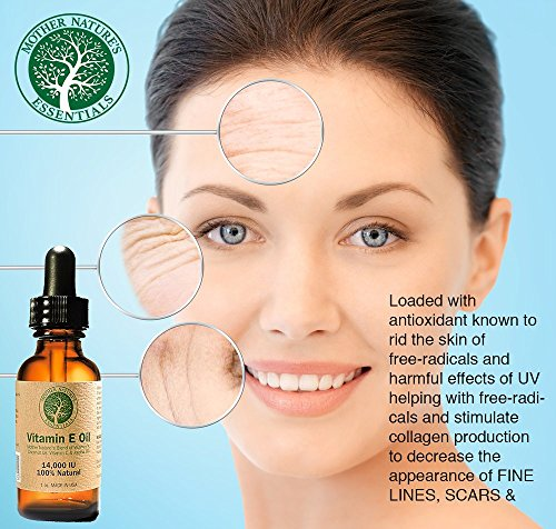 What are the harmful effects of free radicals on skin?