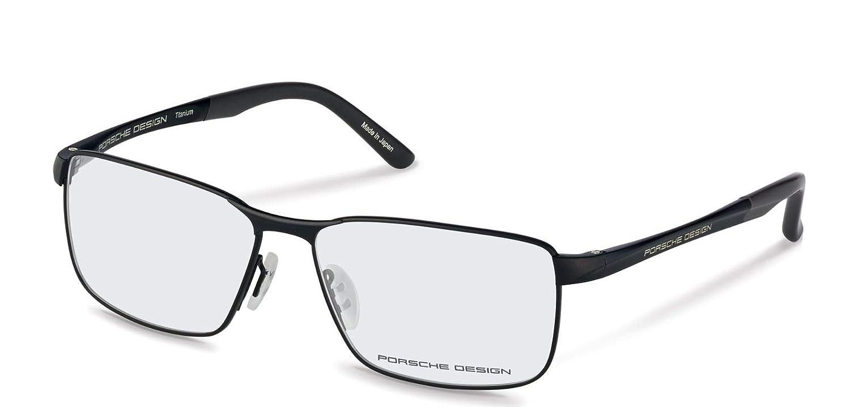 28eeb979294 Authentic Porsche Design P 8273 A Black Eyeglasses  Amazon.co.uk  Clothing