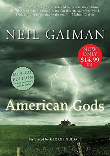 American Gods Low Price MP3 CD by HarperAudio