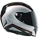 Nexx XR1R Full Face Helmet (Carbon White Red, Large)