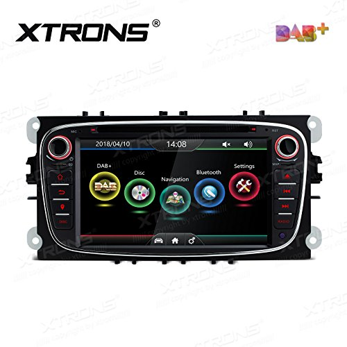 XTRONS Black 7 Inch HD Digital Touch Screen Dual CANbus Car Stereo Radio...