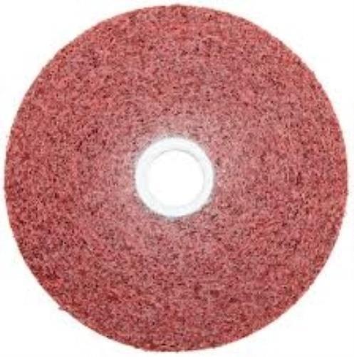 Scotch Brite Metal Finishing Wheel Aluminum Oxide 6'' Di. 1'' Width 5A Coarse