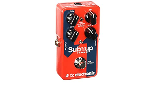 TC ELECTRONIC PEDAL SUB N UP OCTAVER: Amazon.es: Instrumentos musicales