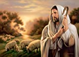 The Lord is My Shepherd - Canvas Giclee 18'' x 24''