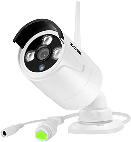ZOSI ZG2321M ZG23213M 960P HD 1.3MP Wireless IP Network Camera with 100ft IR Night Vision Weatherproof Outdoor Indoor Security Camera Only Work with ZOSI NVR Recorder Model ZR04JB ZR08KB ZR08QB