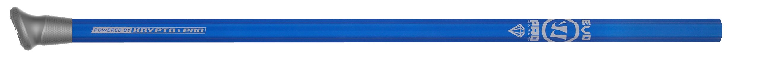 Warrior Evo Pro Diamond Defense Handle Lacrose Shaft, Royal Blue