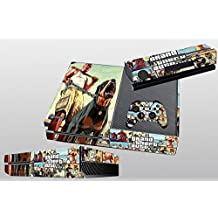 CAN® Designer Skin Sticker for the Xbox One Console With Two Wireless Controller Decals - GTA V 5 Grand Theft Auto 5