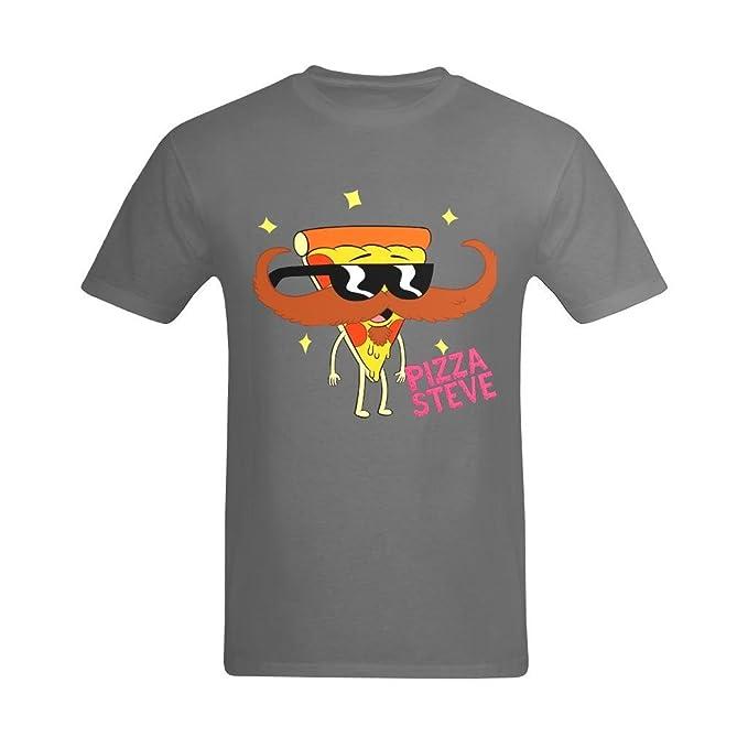 youranli Hombres del Tío abuelo dibujos animados dibujos animados Pizza  Steve Anime camiseta de bigote  Amazon.es  Ropa y accesorios b075558ba2ab8