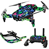 MightySkins Skin For DJI Max Coverage - Geometric Rave | Protective, Durable, and Unique Vinyl Decal wrap cover | Easy To Apply, Remove, and Change Styles | Made in the USA