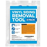 2 Pack Vinyl Siding Removal Tool for Installation