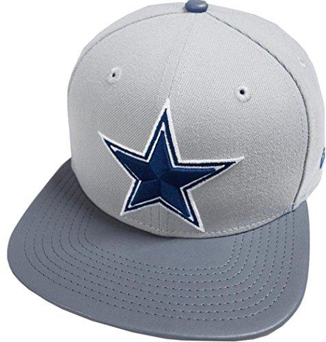 New Era Dallas Cowboys NFL Grey Storm 9fifty 950 Snapback Cap Original Fit OSFA Basecap Limited Edition