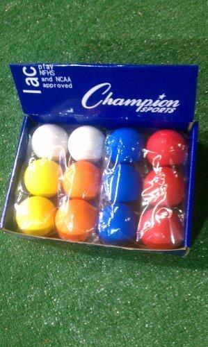 Bolas de Lacrosse NCAA NFHS varios colores Champion C-A-12