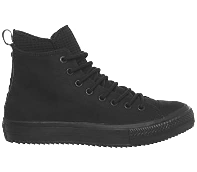... purchase converse womens chuck taylor all star waterproof leather high  top black black black sneaker 6b032 ca7caf58d
