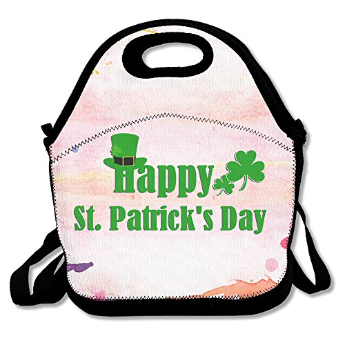 MAGGIE SALAS Happy St.Patrick's Day Multipurpose Lunch Bags Bags Travelling Picnic Storage Bag Backpack - Spokane Stores Mall