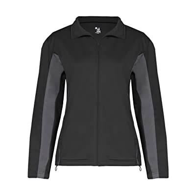 Badger womens Brushed Tricot Drive Jacket (7903)