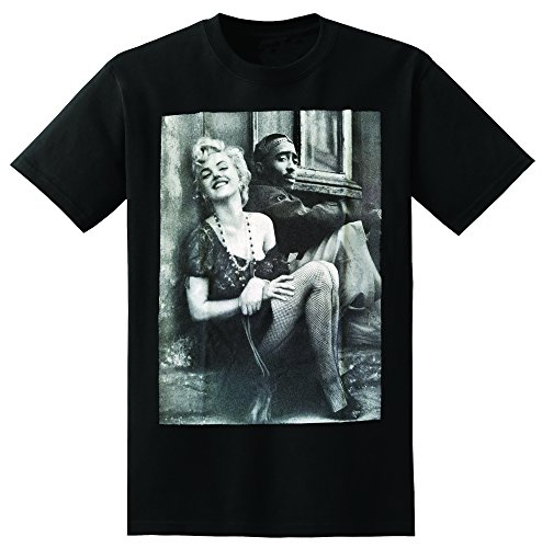 (Tupac Marilyn Monroe Couple T Shirts Hiphop Legend (medium))