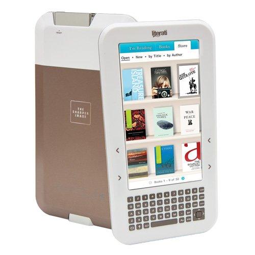 The Sharper Image Literati Wireless Reader White - Pre-Owned