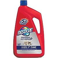 Resolve Pet Carpet Steam Cleaner Solution, 96 fl oz Bottle, 2X Concentrate