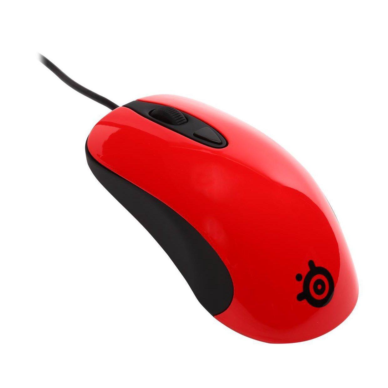 Ratones para gamers para PC rojo