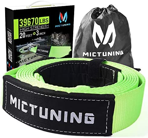 MICTUNING Recovery Tow Strap Inch product image