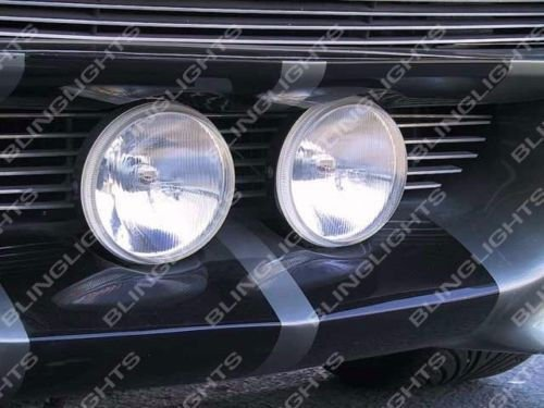 Shelby Gt500 Fastback - Large Grille Driving Lights Kit for Ford Mustang Eleanor Shelby GT-500 Fastback