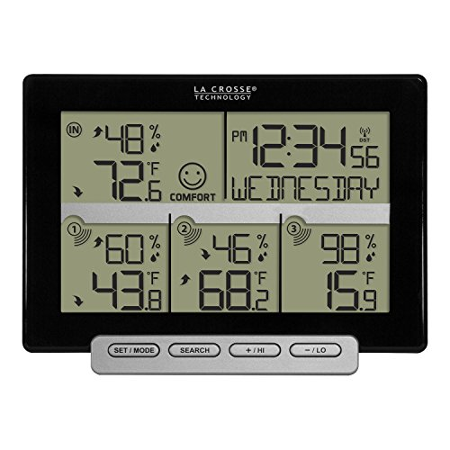 (La Crosse Technology 308-1412-3TX-INT Wireless Weather Station (Including 3 Sensors))