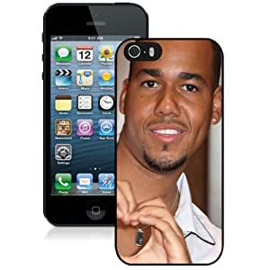 Fashionable iPhone 5 5S Case ,Unique And Lovely Designed Case With Romeo Santos Man Smile Teeth Bracelet Black iPhone 5 5S Cover Phone Case