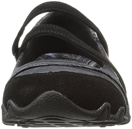 Fit Relaxed Black Bikers Shoes Ripples Skechers Negro 6PxFOqF5