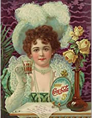 2021-2025 Monthly Planner: 60 Monthly Calendars with US Holidays, To-Do Lists, Goals, Notes & Reminders : Five Year Calendar January 1, 2021 - December 31, 2025 : Vintage Drink Coca-Cola Advertising Art Print