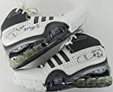 "Tim Duncan ""#21 Spurs"" Signed Game Used Adidas Bounce Shoes - PSA/DNA Certified - Autographed Game Used NBA Sneakers"