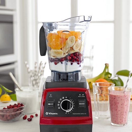 Vitamix Professional Series 750 with 64 oz container, Candy Apple Red Finish