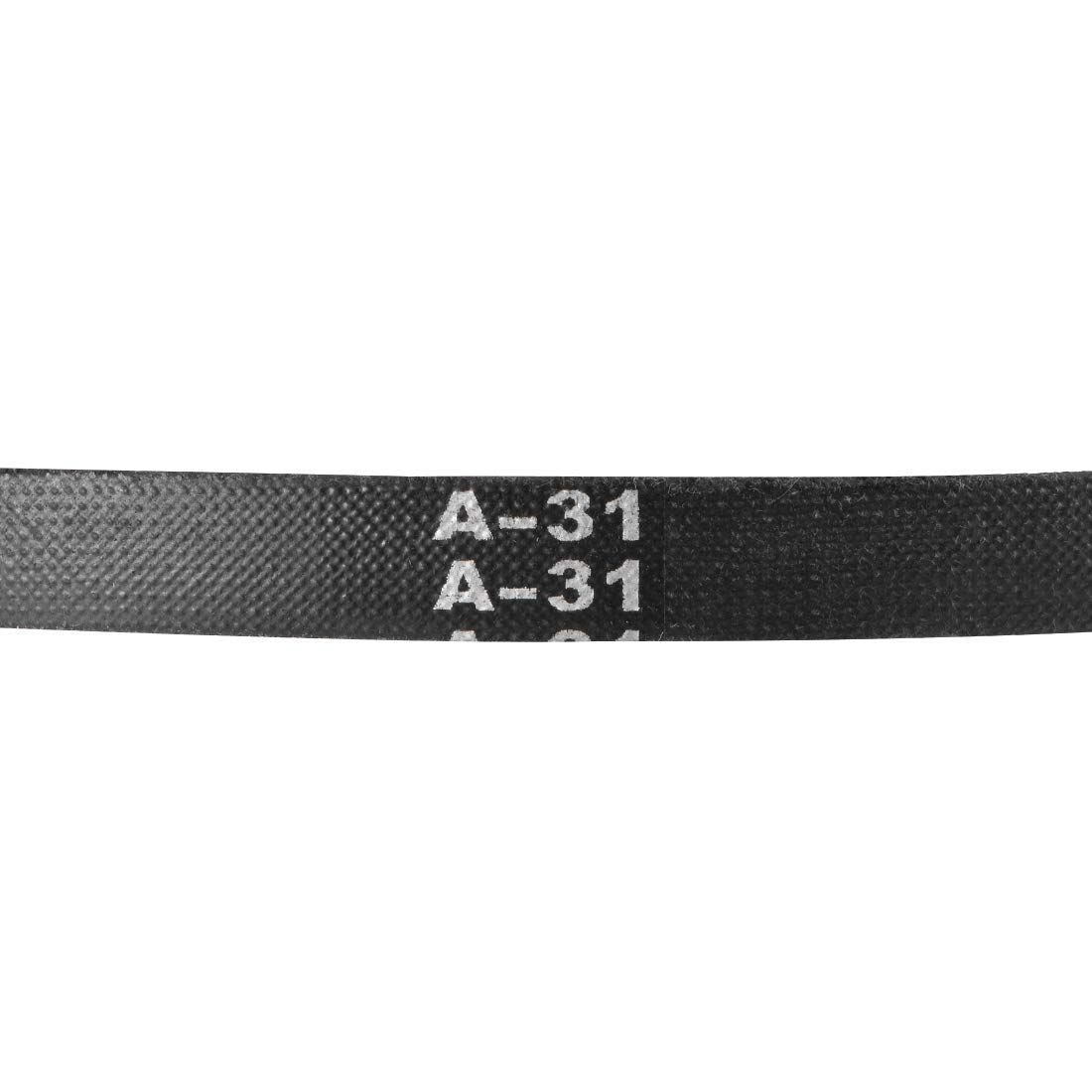 A-Section Rubber Drive Belt 2pcs uxcell A31 V-Belts 31 Pitch Length