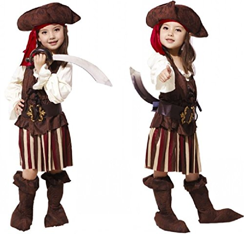 [Fancy Festival Cosplay Halloween Pirate Costume] (Adult Egyptian Prince Costumes)